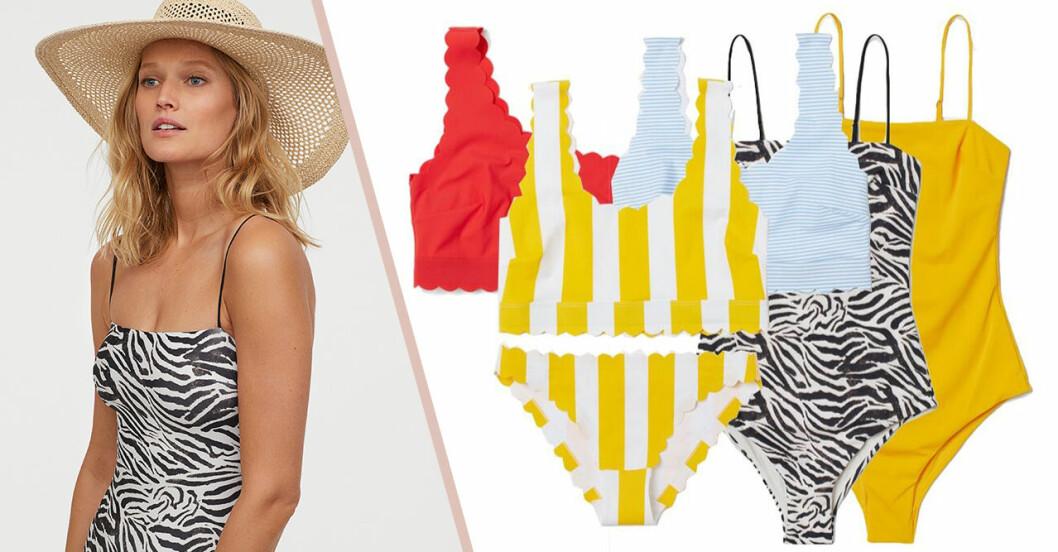Badkläder för dam från H&M till sommaren 2019