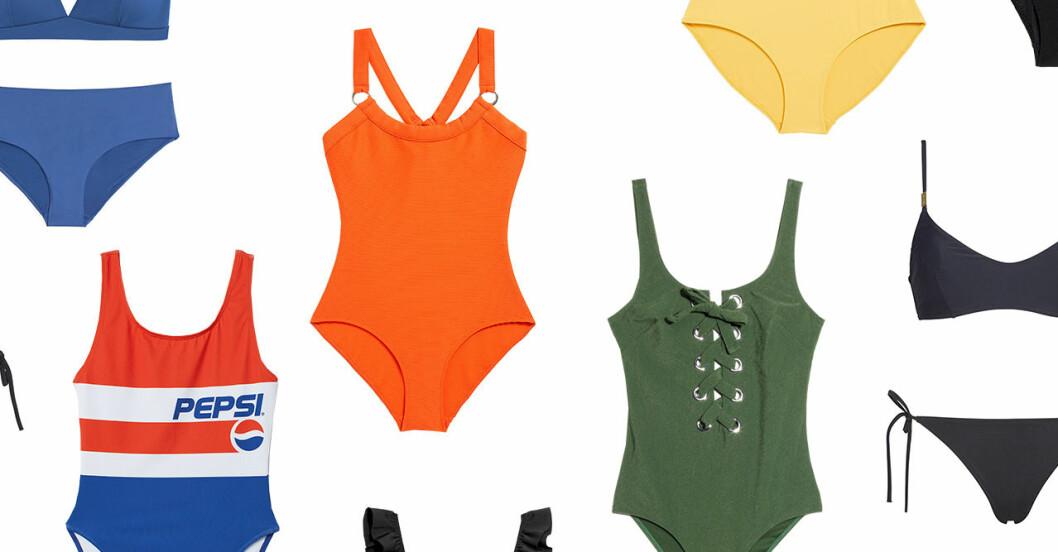 Badkläder till solresan i vinter för dam