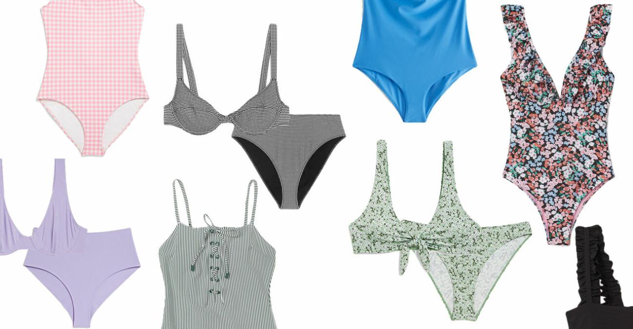 2021 snygga badkläder bikinis