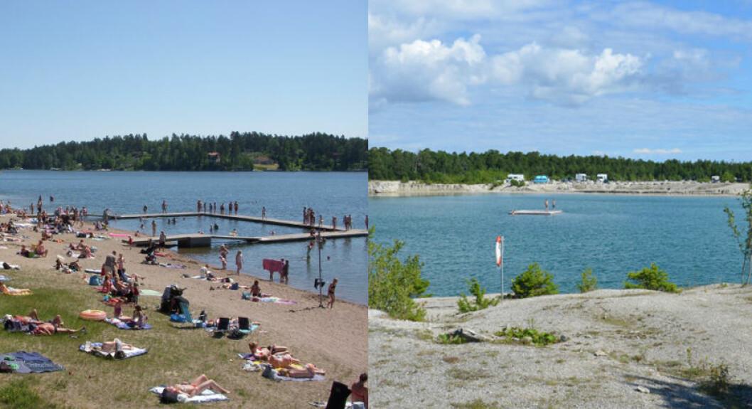 Stockholms bästa badplatser