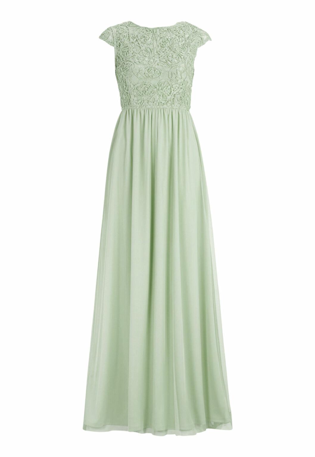 Ljusgrön balklänning till balen 2019