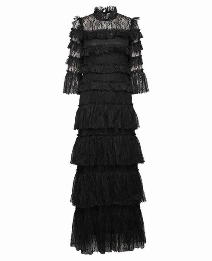 balklänning maxi spets by malina