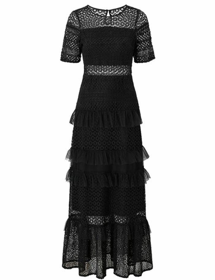 balklänning svart med spets