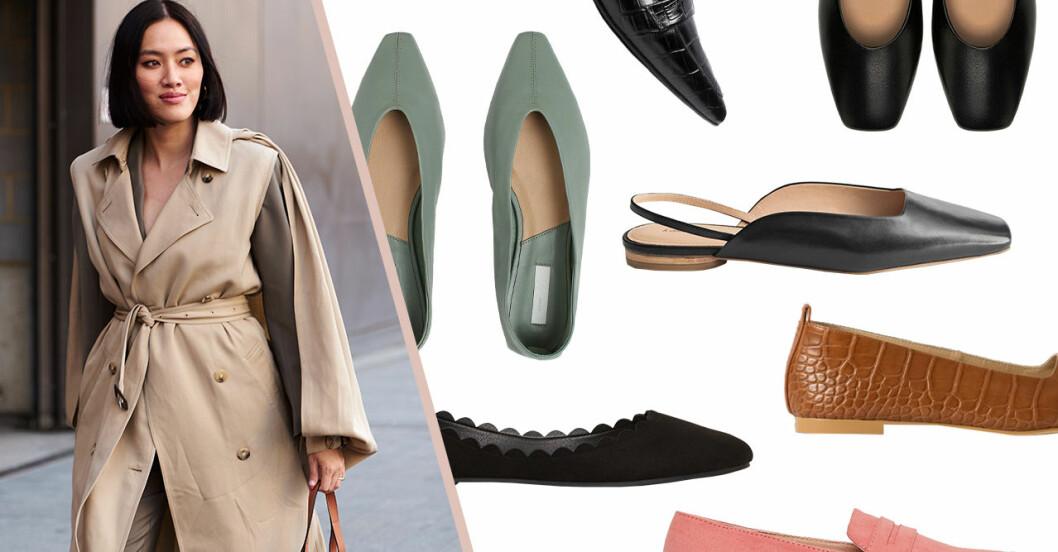 Ballerinaskor och loafers för dam till 2020 – bästa köpen