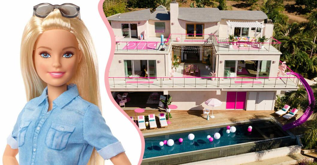 Barbies riktiga hus i Malibu.