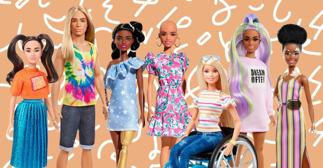 Nya Barbie-dockor