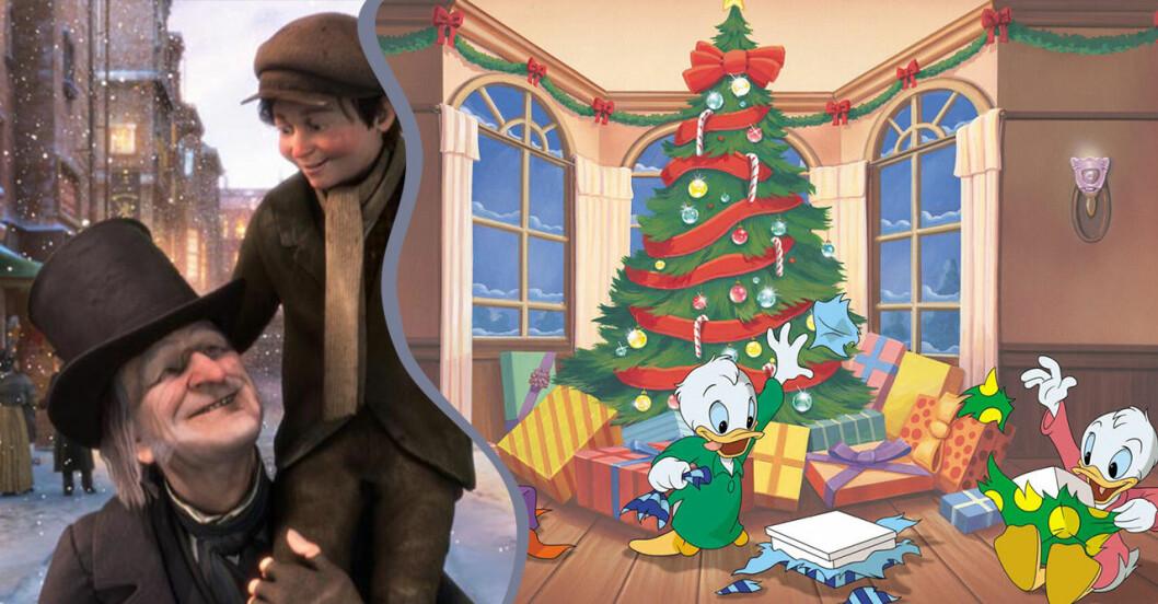 En julsaga och knattarna firar jul.