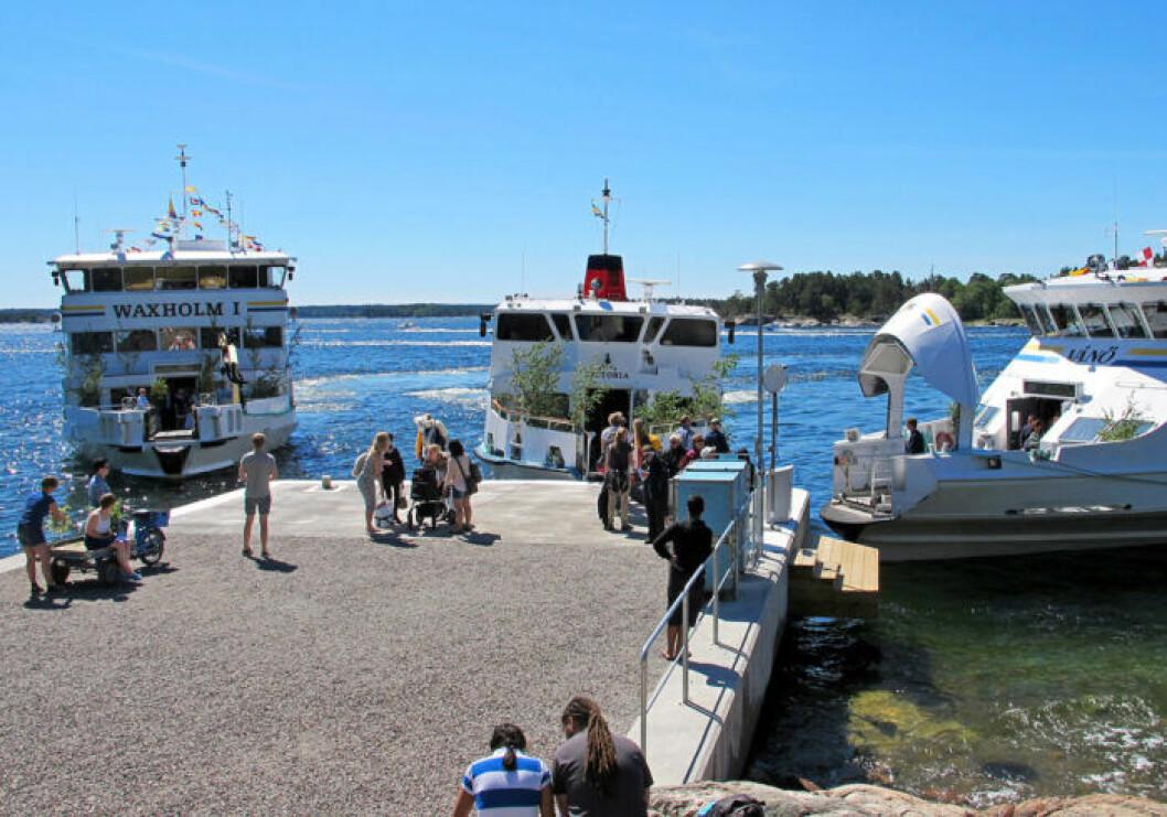 Båtluffa i Skärgården