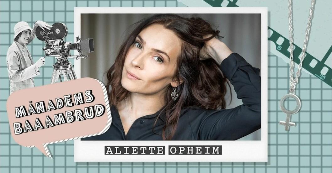 Aliette Opheim, baaambrud
