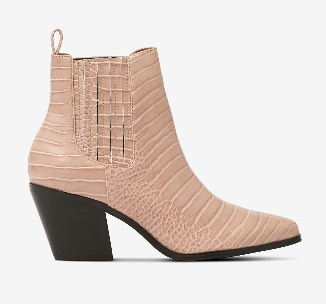 Beige boots för dam till hösten 2019