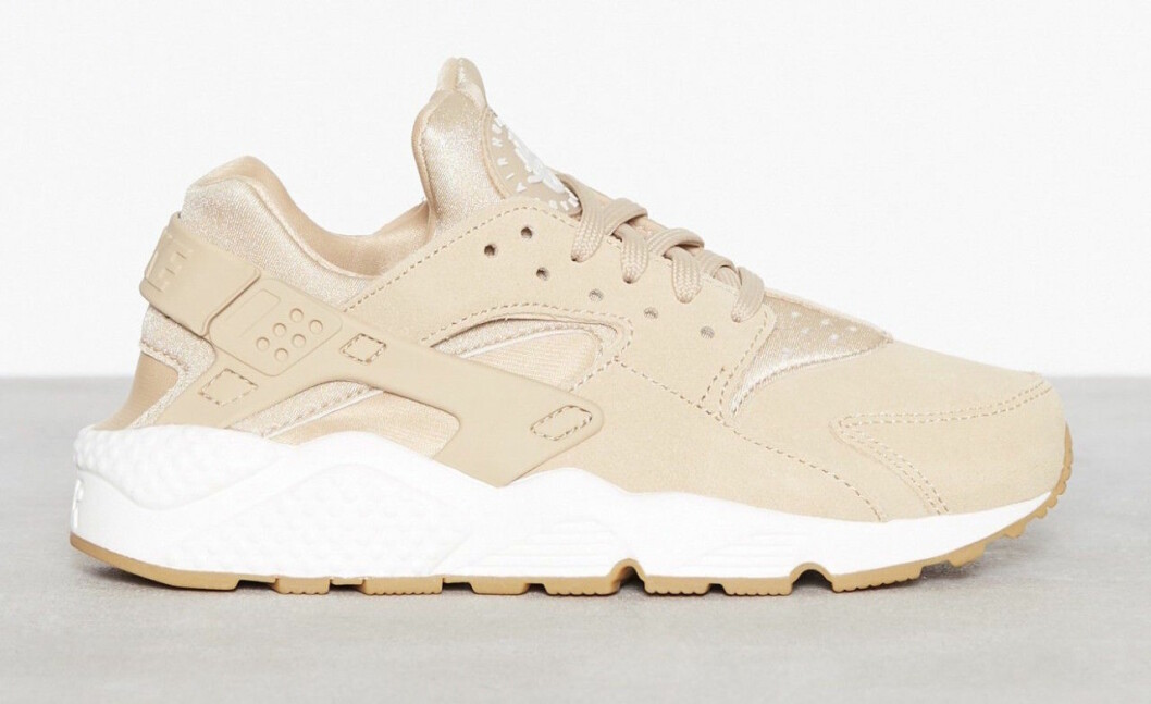 Beige chunky sneakers
