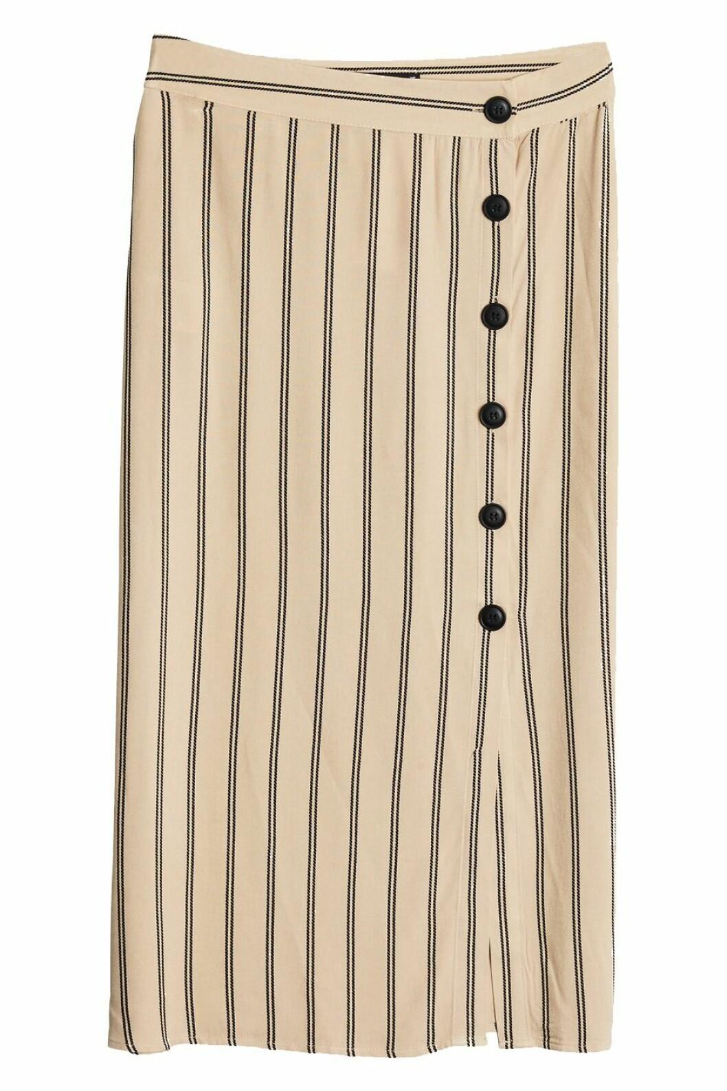 Beige kjol till hösten 2018