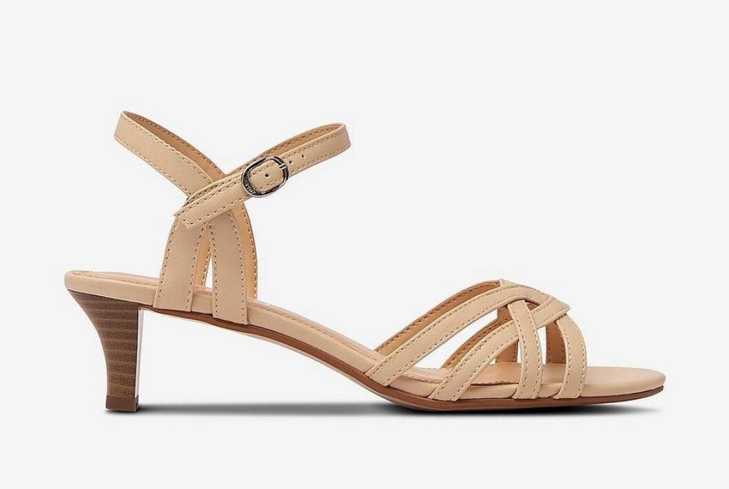 Beige sandaletter för dam till sommaren 2020