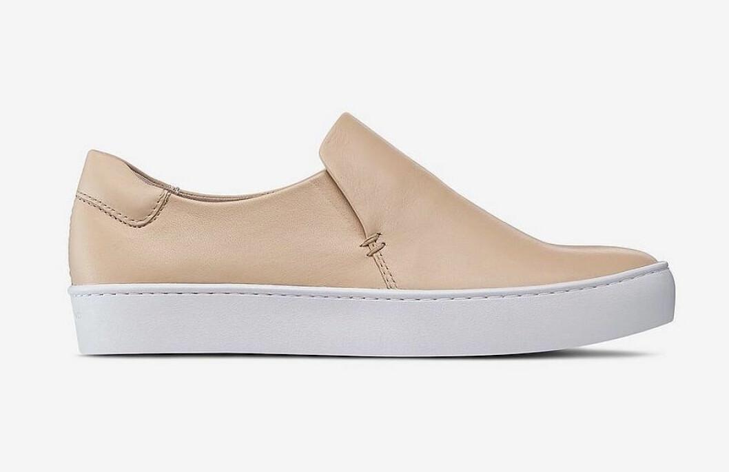 Beige sneakers, vårskor, för dam till våren 2019