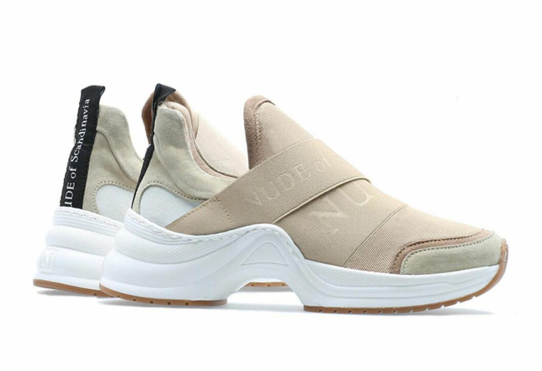 Beige sneakers vårskor till 2019