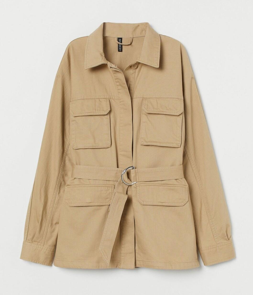 Vårjacka 2020: Beige jacka från H&M