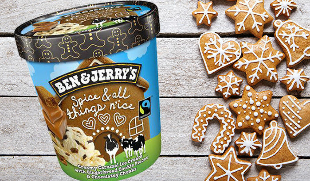 Ben & Jerry's nya smak Spice And All Things Nice