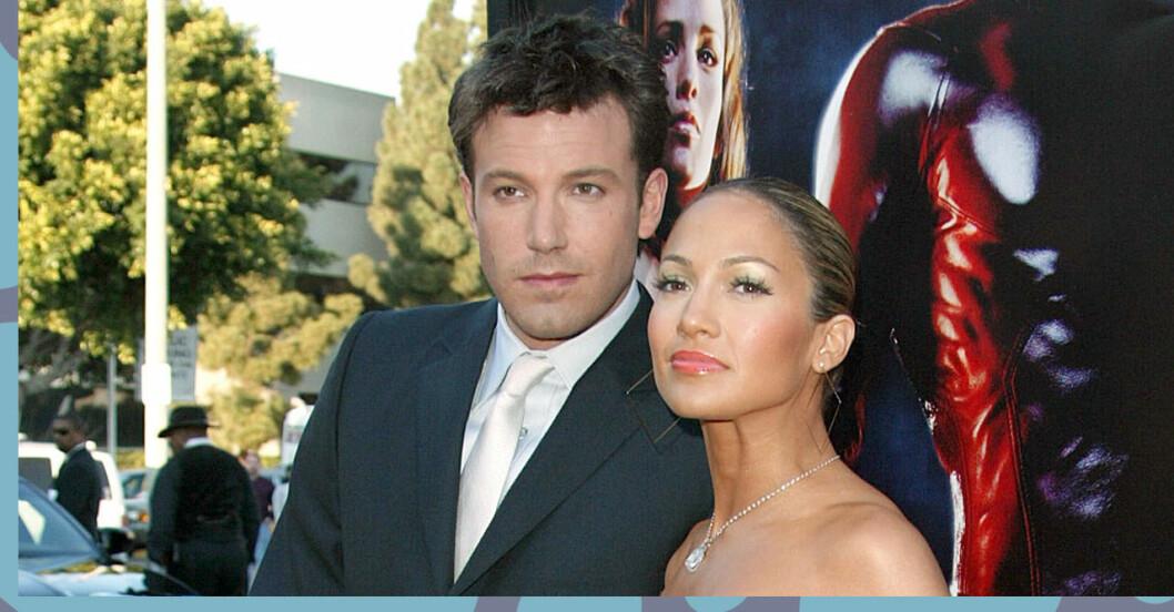 Ben Affleck och Jennifer var ett par fram till 2004 – och uppges vara det igen!