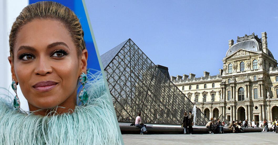 Besöksrekord på Louvren i Paris – tackar Beyoncé och Jay-Z