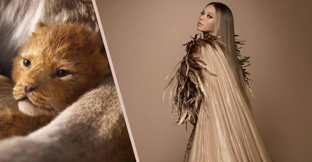 Beyonce och Blue Ivy Lejonkungen-outfits
