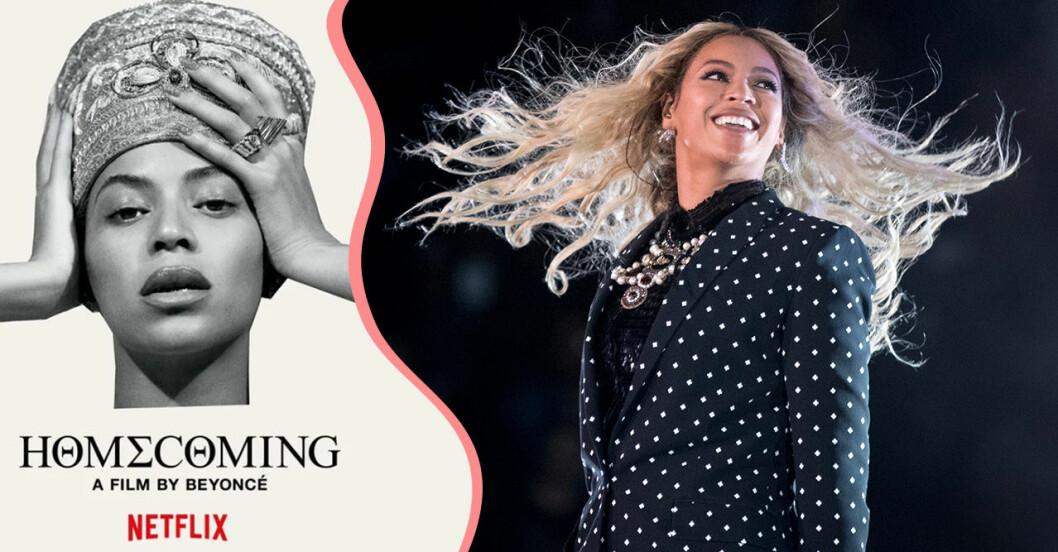 Beyoncé-dokumentären Homecoming har kommit till Netflix.