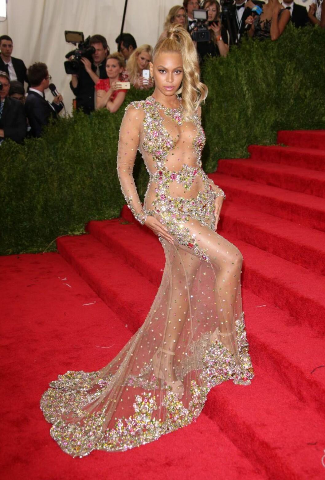 Beyonce på Metgalan 2015