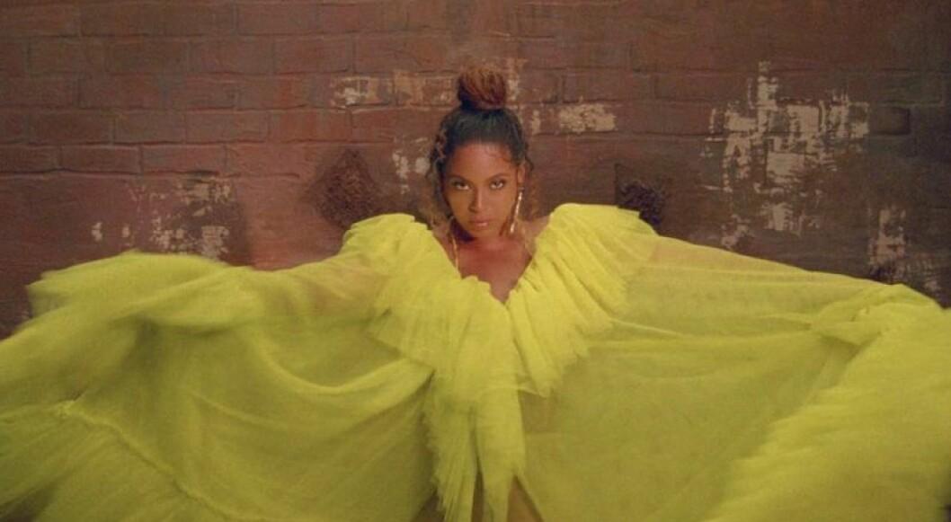 Beyonce iklädd Selam Fessahaye på Black Is King