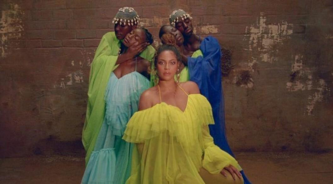 Beyonce iklädd Selam Fessahaye i Black Is King