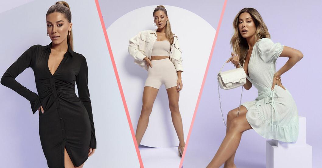Bianca ingrosso frontar ny kampanj för Nelly våren 2021