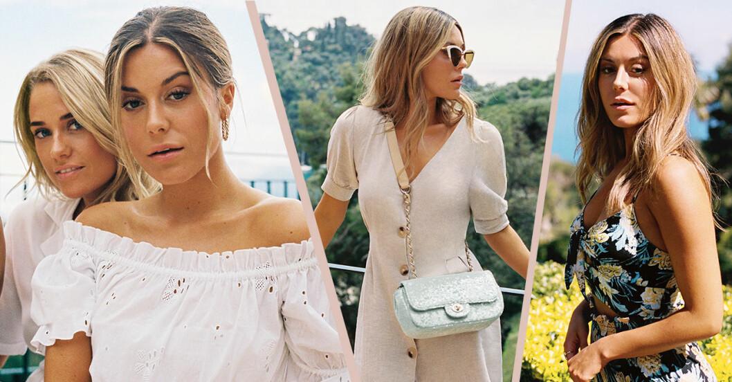 Bianca Ingrosso frontar Gina tricots sommarkollektion