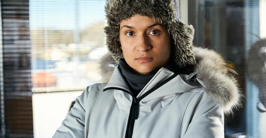 Bianca Kronlöf tränade hårt inför Tunn is