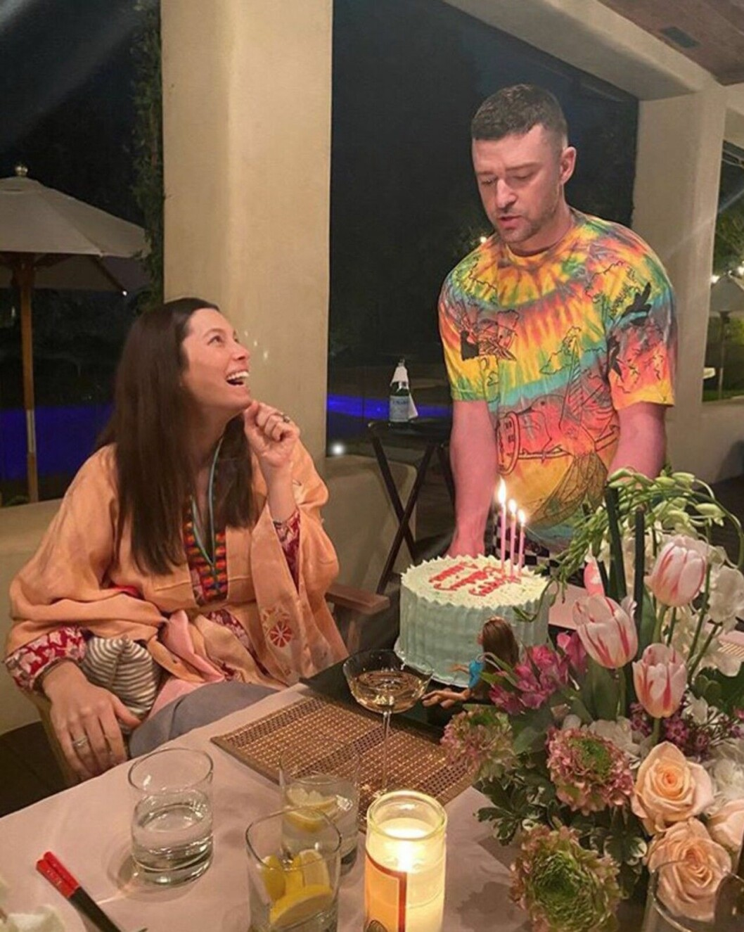 Jessica Biel Justin Timberlake födelsedag
