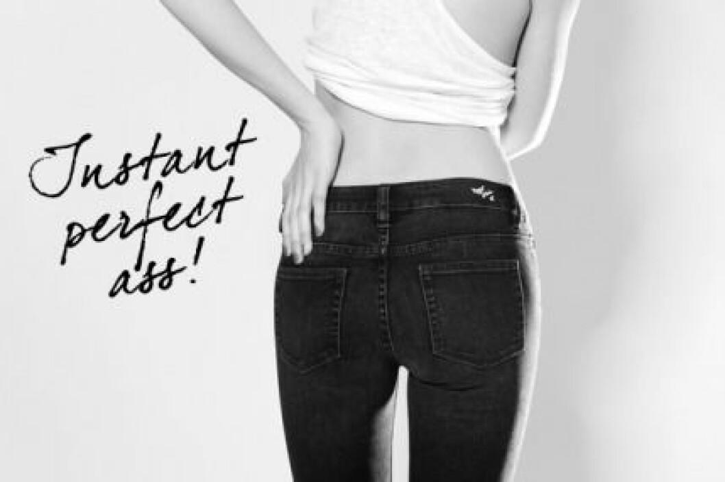 """Nya jeansmodellen KICK från Never Denim utlovar """"instant perfect ass""""!"""