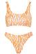 Zebramönstrad bikini för dam till 2019