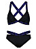 Svart bikini till vintern