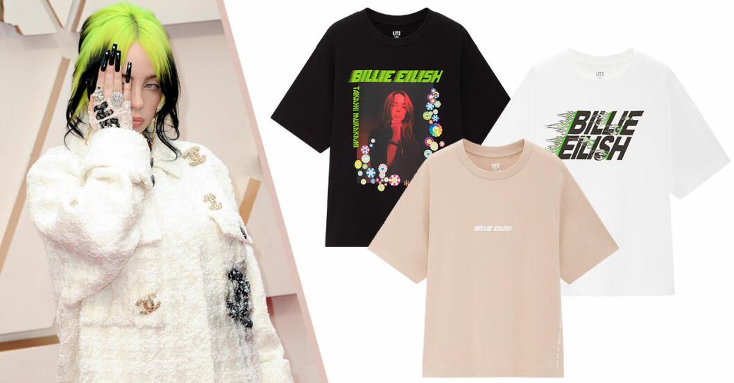 Uniqlo släpper t-shirtkollektion med Billie Eilish och Murakami