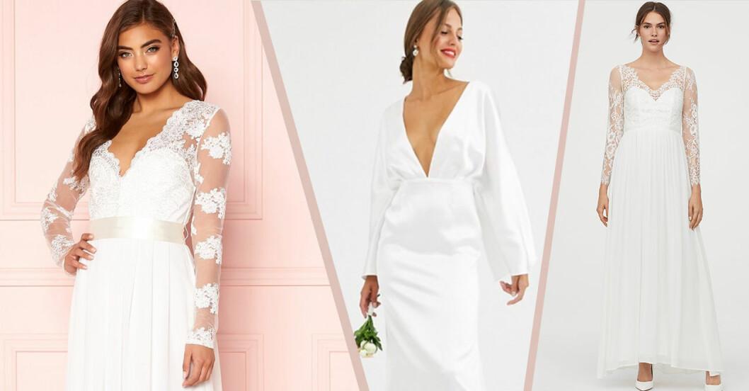 Billiga brudklänningar till 2020