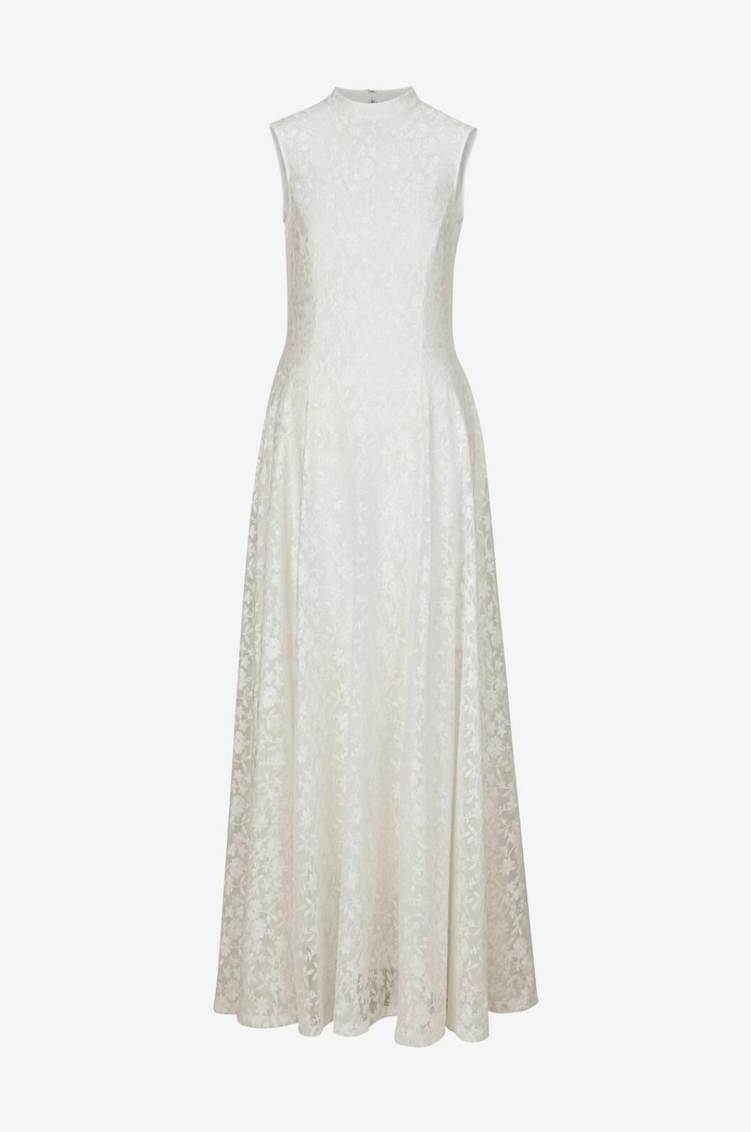 Billig bröllopsklänning med spets 2019