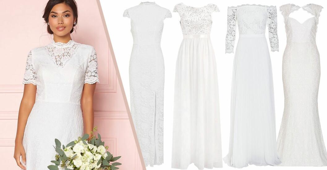 Billiga brudklänningar till bröllop 2019