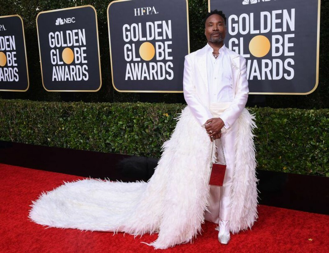 Billy Porter på Golden Globes 2020