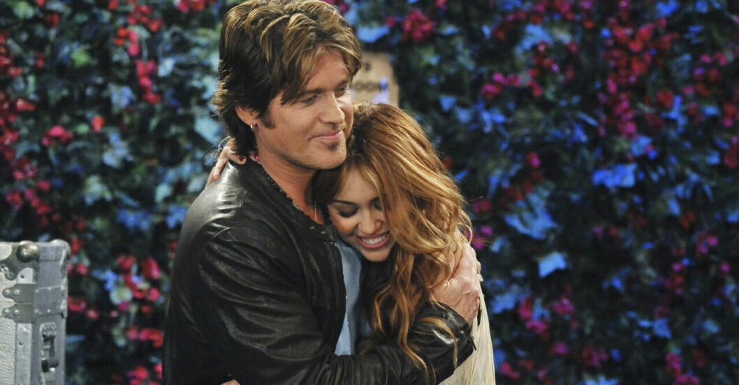 Billy Ray och Miley Cyrus