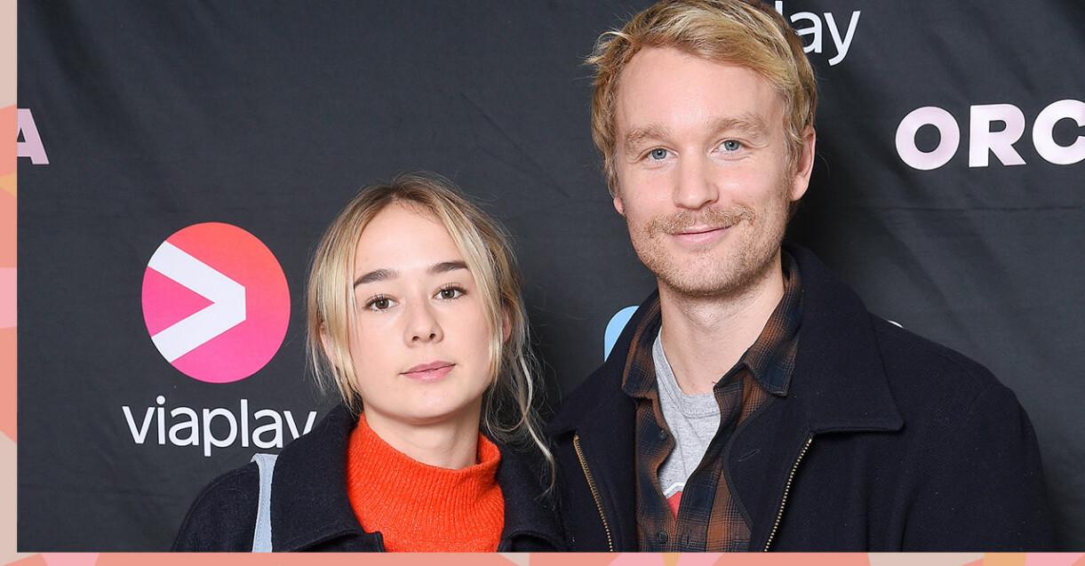 Alba August och Björn Gustafsson är inte längre ett par.