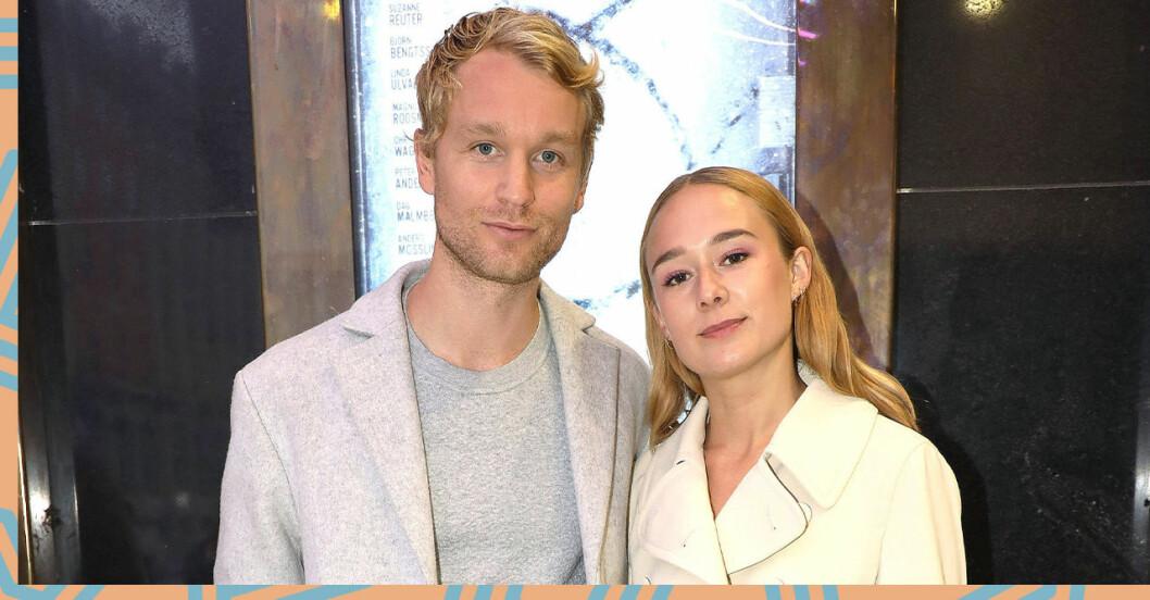 Björn gustafsson och Alba August om relationen.