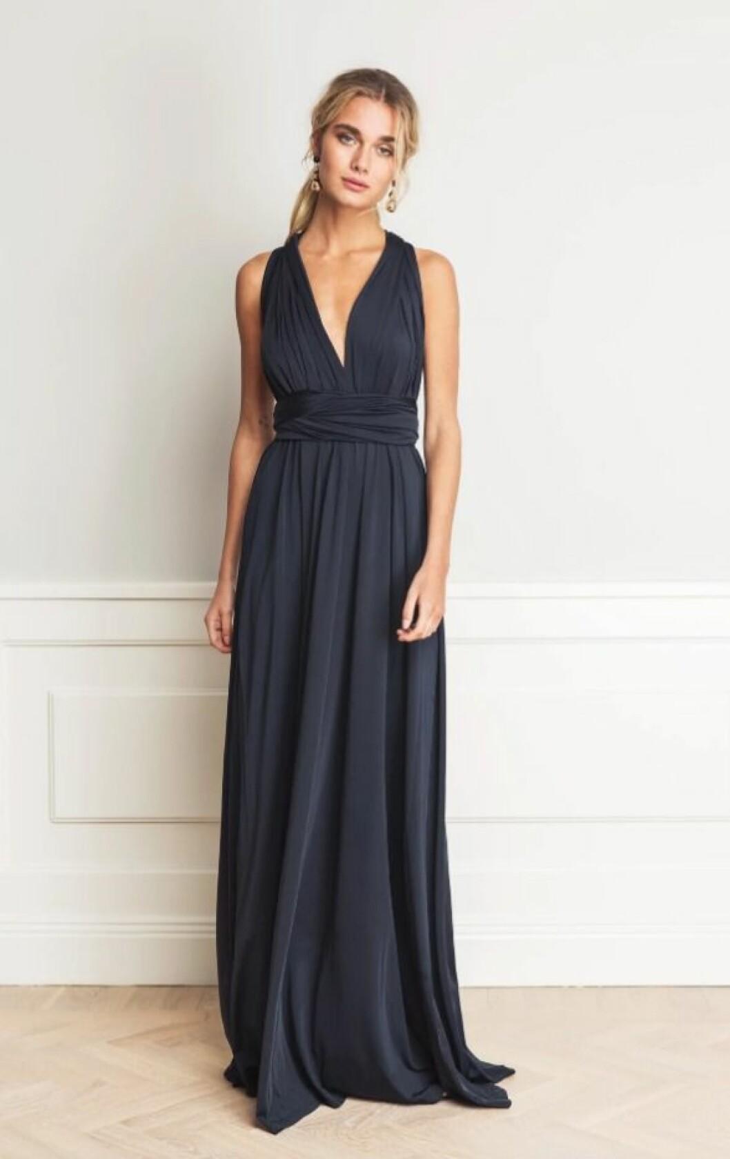 Blå balklänning till 2019
