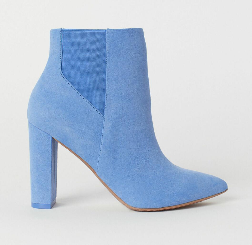 Blå boots till våren 2019