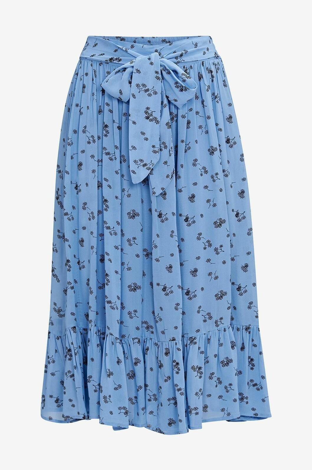 Blå kjol till våren 2019