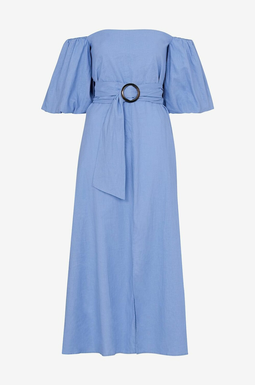 Blå klänning till bröllop 2019