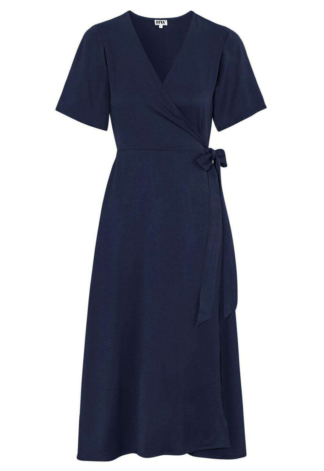 Blå klänning för dam till bröllopet 2020