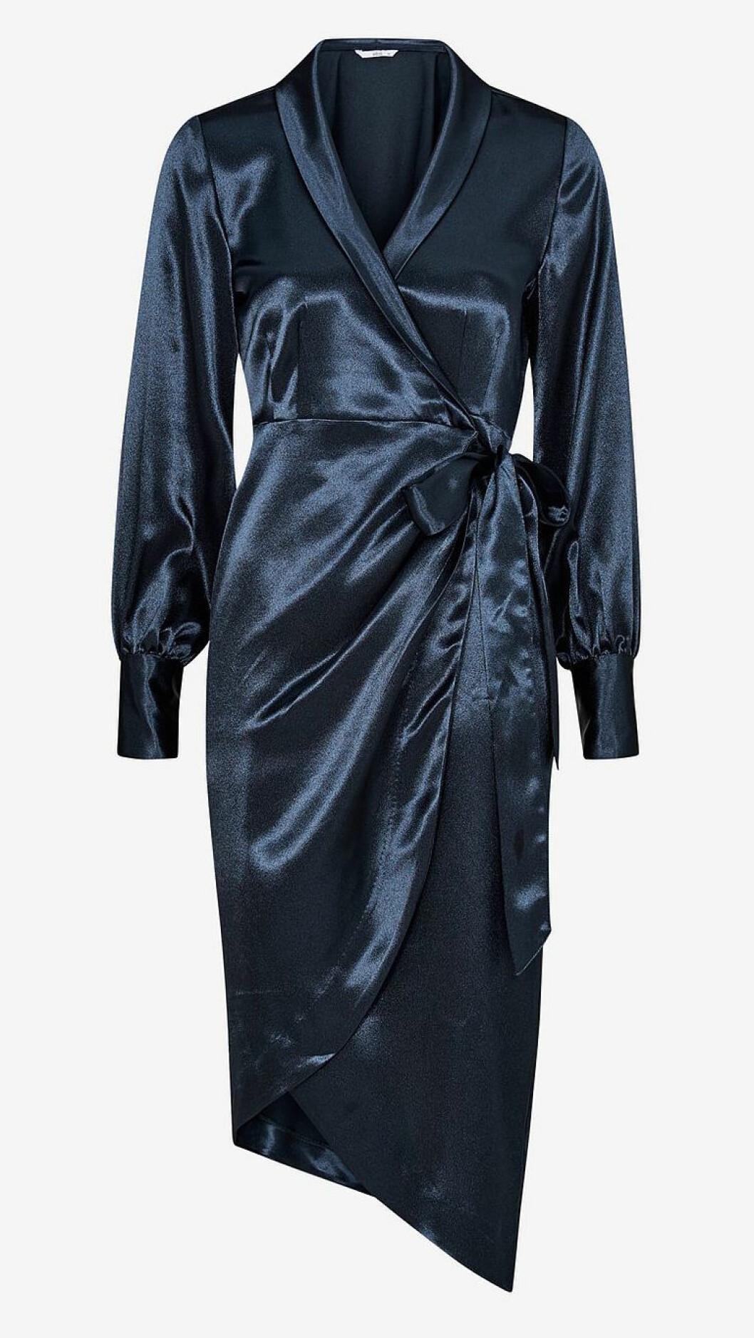 Blå klänning till nyårsafton