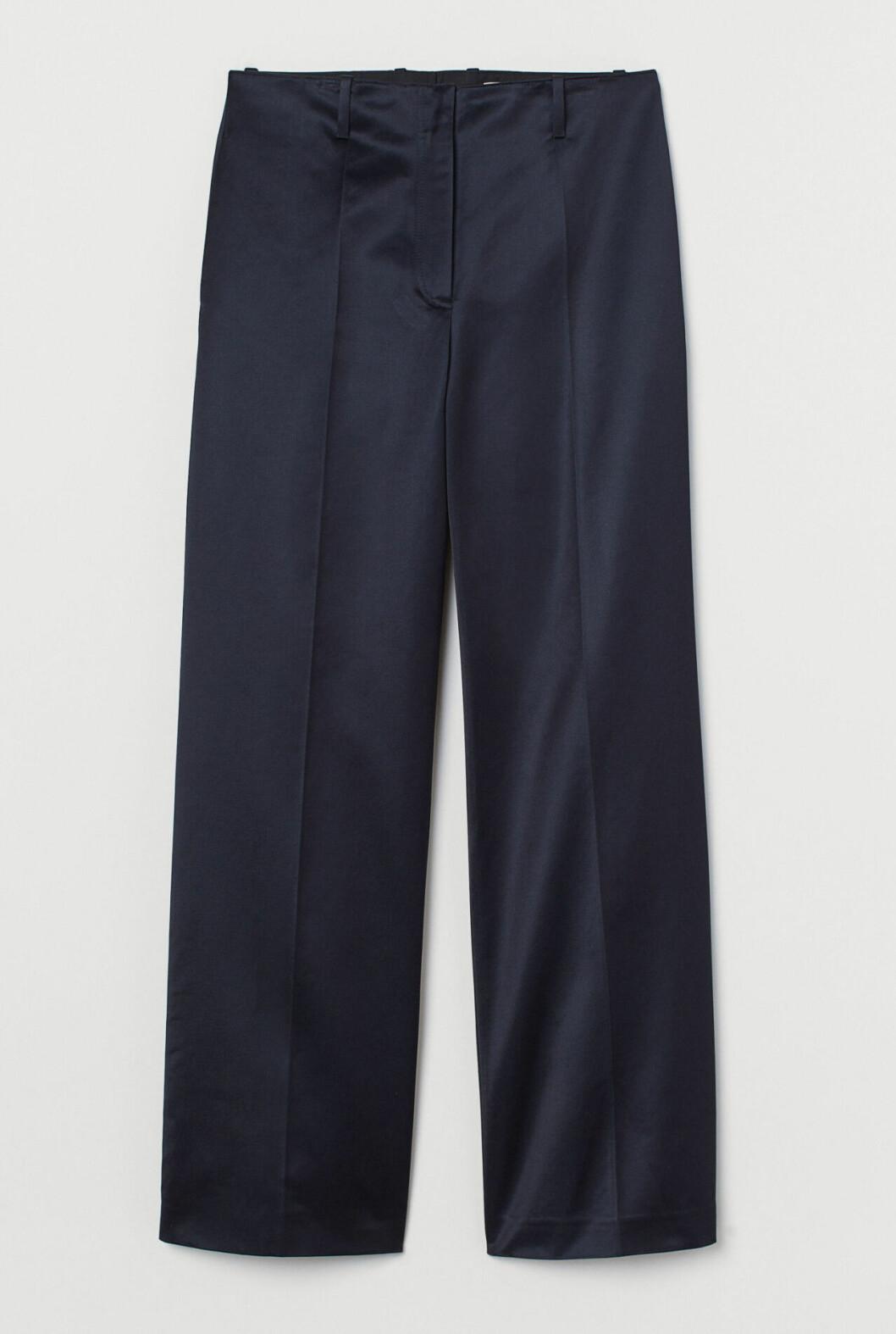 Blå kostymbyxor för dam till 2019